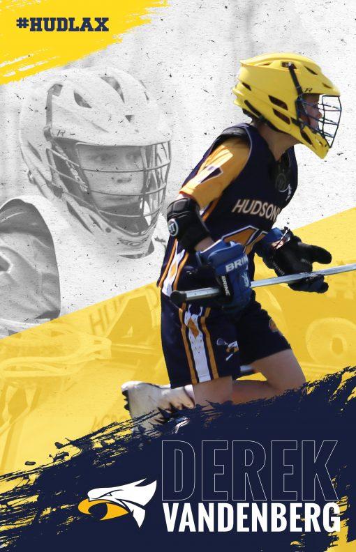 custom sports poster lacrosse poster