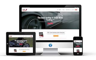 technical business website design